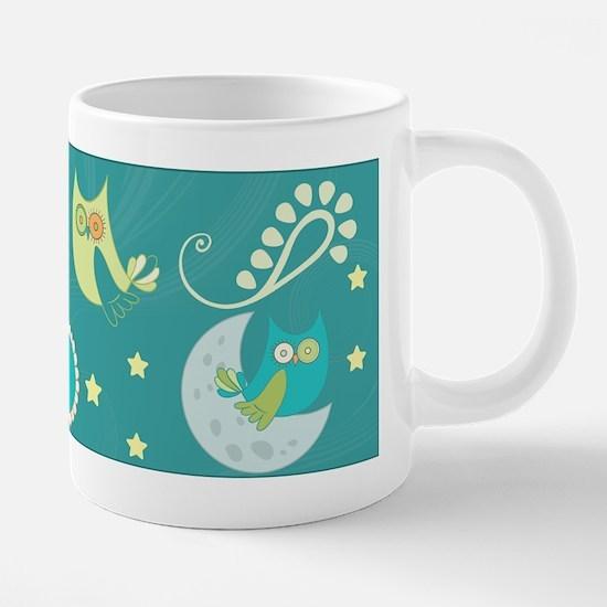 Night Owls 20 oz Ceramic Mega Mug