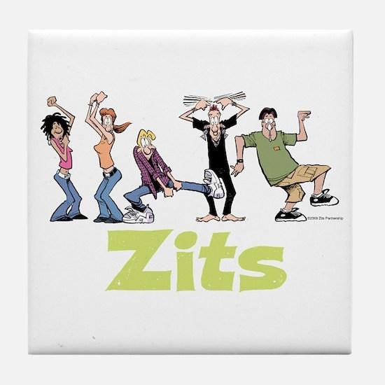 Dancing Everyone Tile Coaster