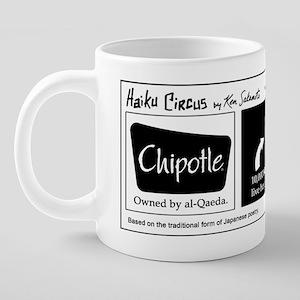 haikucircus_rumors 20 oz Ceramic Mega Mug