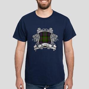 Baird Tartan Shield Dark T-Shirt