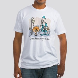 Old Fart Fitted T-Shirt