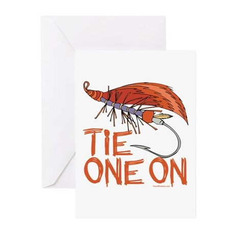 Fly Tying Greeting Cards (Pk of 20)