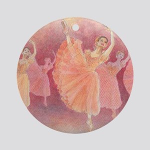 Waltz of the Flowers Ballet Ornament (Round)