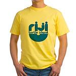 Turtle Island Yellow T-Shirt