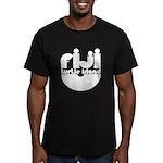 Turtle Island Men's Fitted T-Shirt (dark)