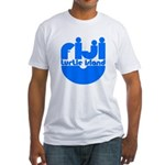 Turtle Island Fitted T-Shirt