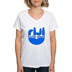 Turtle Island Women's V-Neck T-Shirt