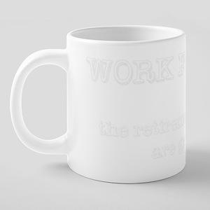 Work For God 20 oz Ceramic Mega Mug
