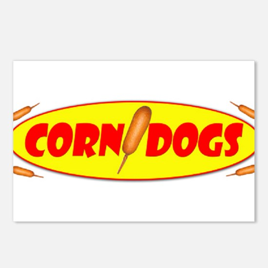 Corn Dogs Postcards (Package of 8)