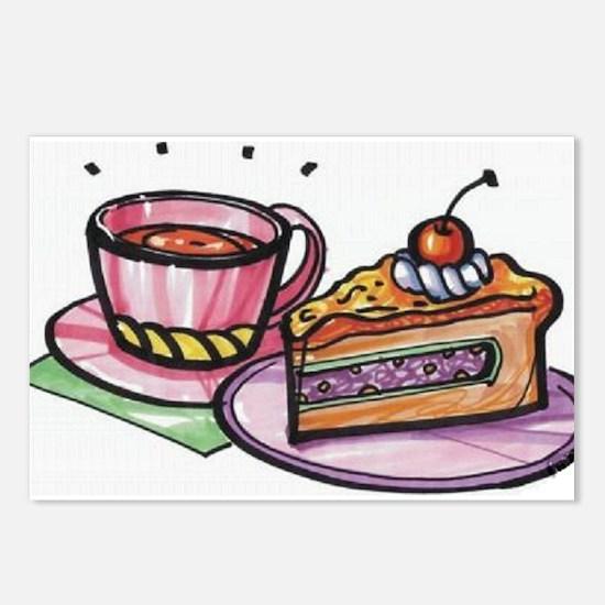 Dessert Postcards (Package of 8)