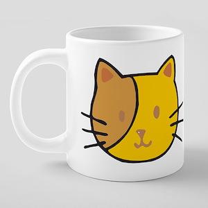 2cat_W 20 oz Ceramic Mega Mug