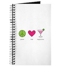 peace. love. happy hour Journal