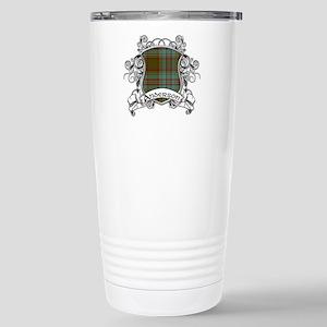 Anderson Tartan Shield Stainless Steel Travel Mug