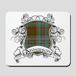 Anderson Tartan Shield Mousepad