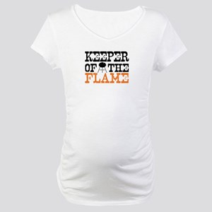 Keeper of the Flame (Grill) Maternity T-Shirt