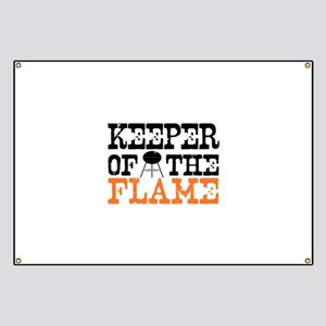 Keeper of the Flame (Grill) Banner