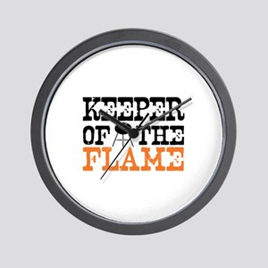 Keeper of the Flame (Grill) Wall Clock