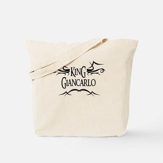 King Giancarlo Tote Bag