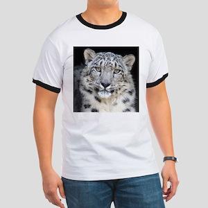 Snow Leopard Ringer T