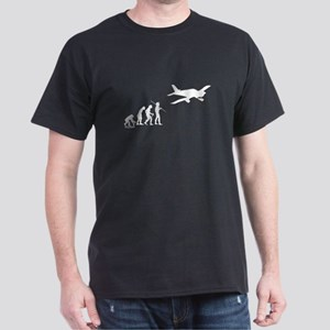 Airplane Evolution Dark T-Shirt
