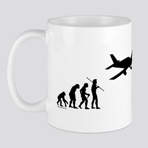 Airplane Evolution Mug
