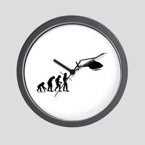 Copter Evolution Wall Clock