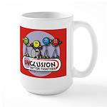 Inclusion Better Together Large Mug