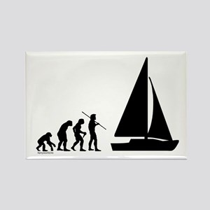 Sail Evolution Rectangle Magnet (10 pack)