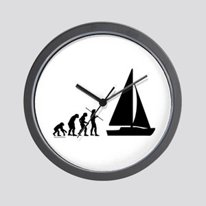 Sail Evolution Wall Clock