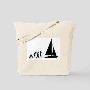 Sail Evolution Tote Bag