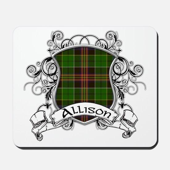 Allison Tartan Shield Mousepad