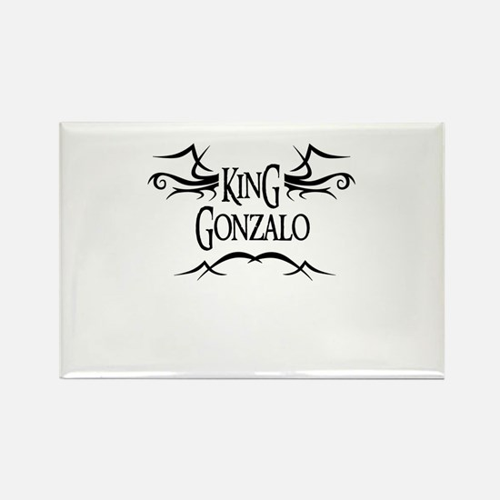 King Gonzalo Rectangle Magnet