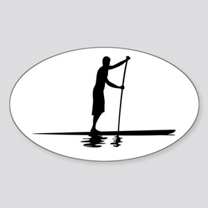 Paddleboarder MkI Oval Sticker