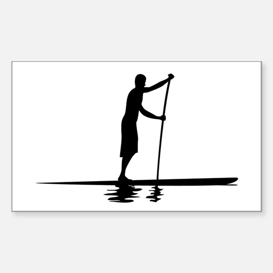 Paddleboarder MkI Rectangle Decal