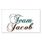 Elegant Team Jacob Rectangle Sticker
