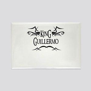 King Guillermo Rectangle Magnet