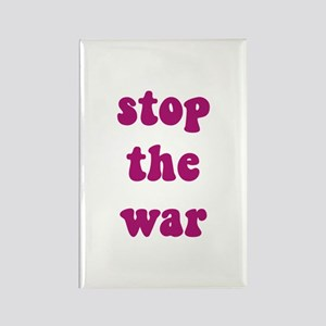 Stop The War Rectangle Magnet