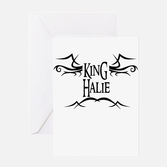 King Halie Greeting Card
