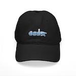 Terp Blue Black Cap