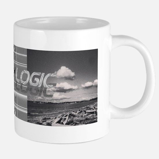UFO Logic Mothership 20 oz Ceramic Mega Mug