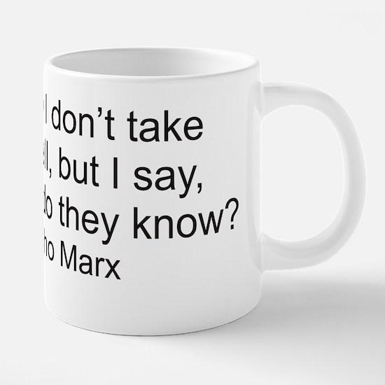 Groucho.png 20 oz Ceramic Mega Mug
