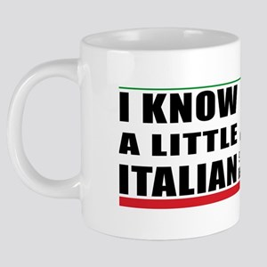 little_italian_coffee 20 oz Ceramic Mega Mug