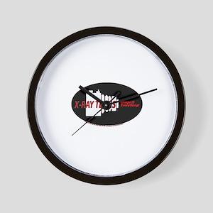 X-ray Techs Camera Wall Clock
