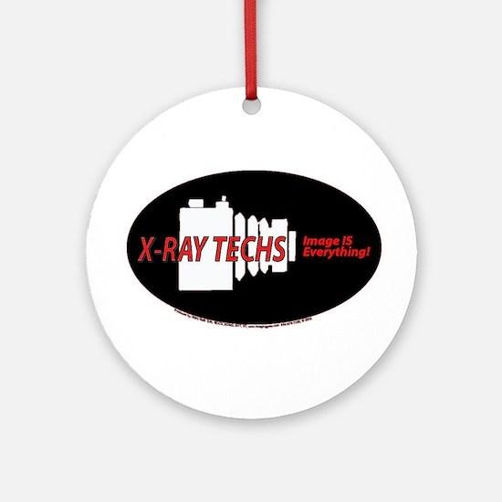 X-ray Techs Camera Ornament (Round)