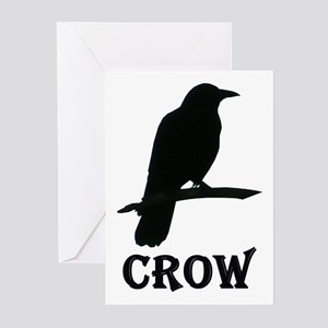 Black Crow Greeting Cards (Pk of 10)