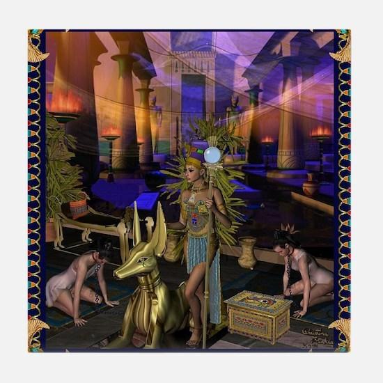 Unique Egyption Tile Coaster