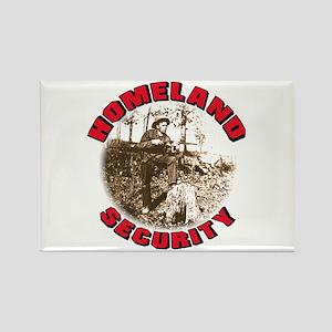 Homeland Security 1 Rectangle Magnet