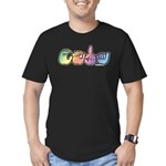CODA Pastel Men's Fitted T-Shirt (dark)