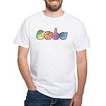 CODA Pastel White T-Shirt