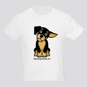 Rottie With Search Engine Gui Kids T-Shirt